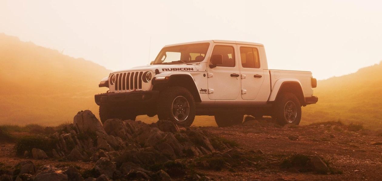 Пикап Jeep Gladiator доступен для заказа в Европе