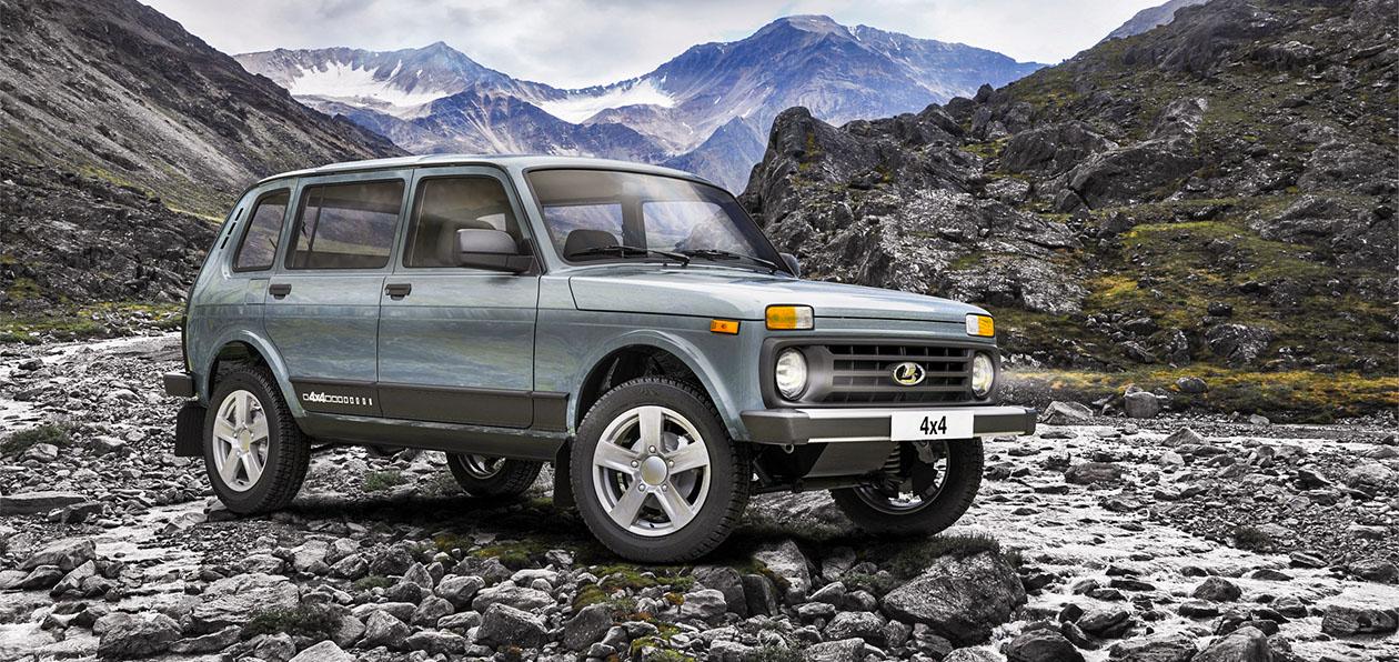 Пятидверная Lada Niva Legend стала доступна в «черной» спецверсии