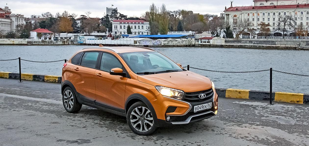 Lada XRAY Cross получил новую базовую комплектацию