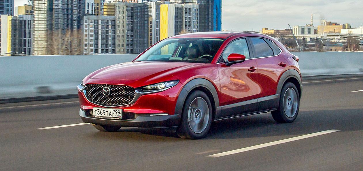 Кроссовер Mazda CX-30 подорожал по пути в Россию