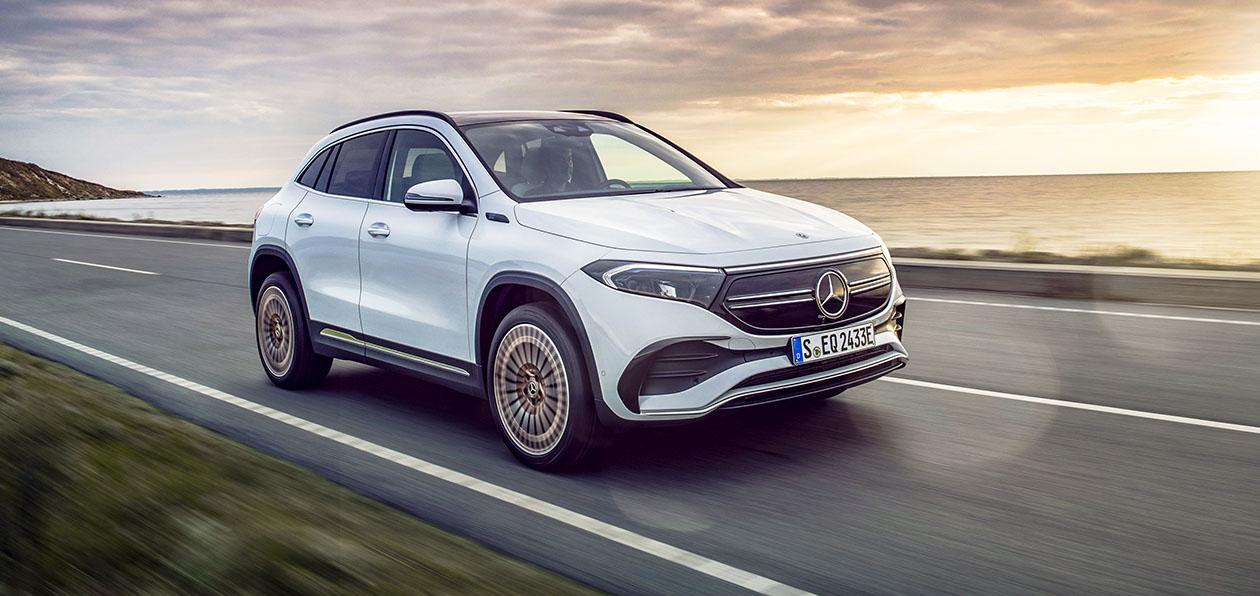 Mercedes представил компактный электрокроссовер EQA