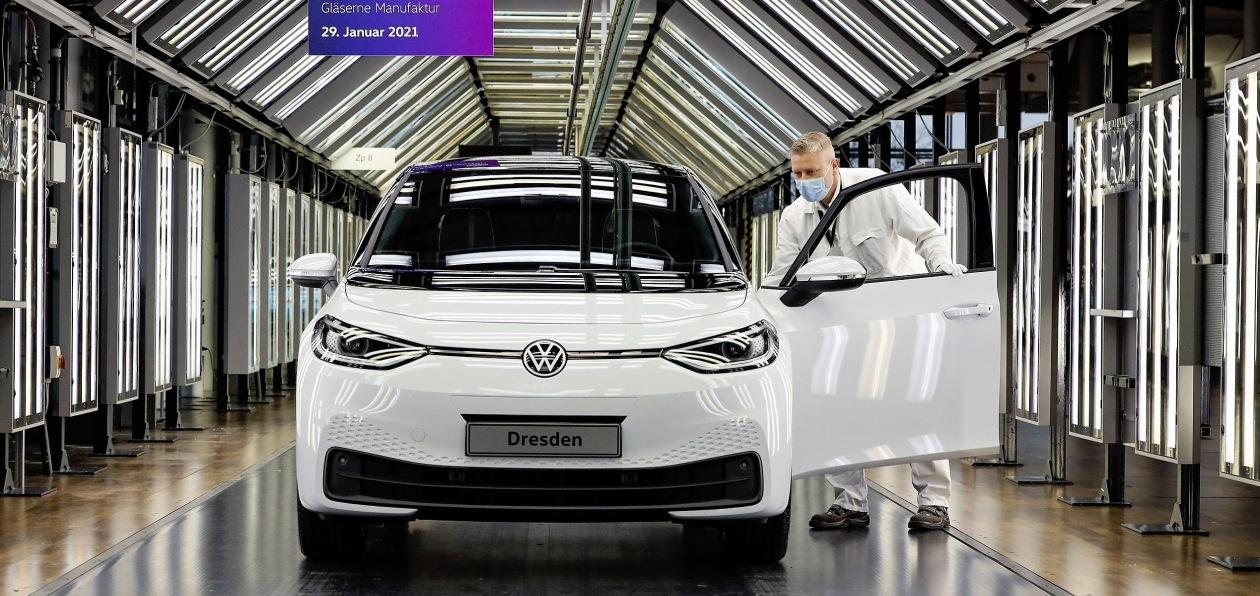 Volkswagen ID.3 начал выпускаться на «Прозрачной фабрике»