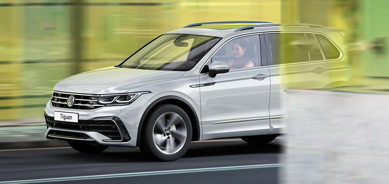 Volkswagen расширил гамму модификаций и опций для нового Tiguan
