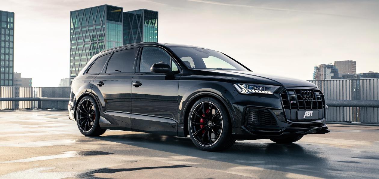 ABT готовит проект тюнинга нового Audi SQ7 TFSI