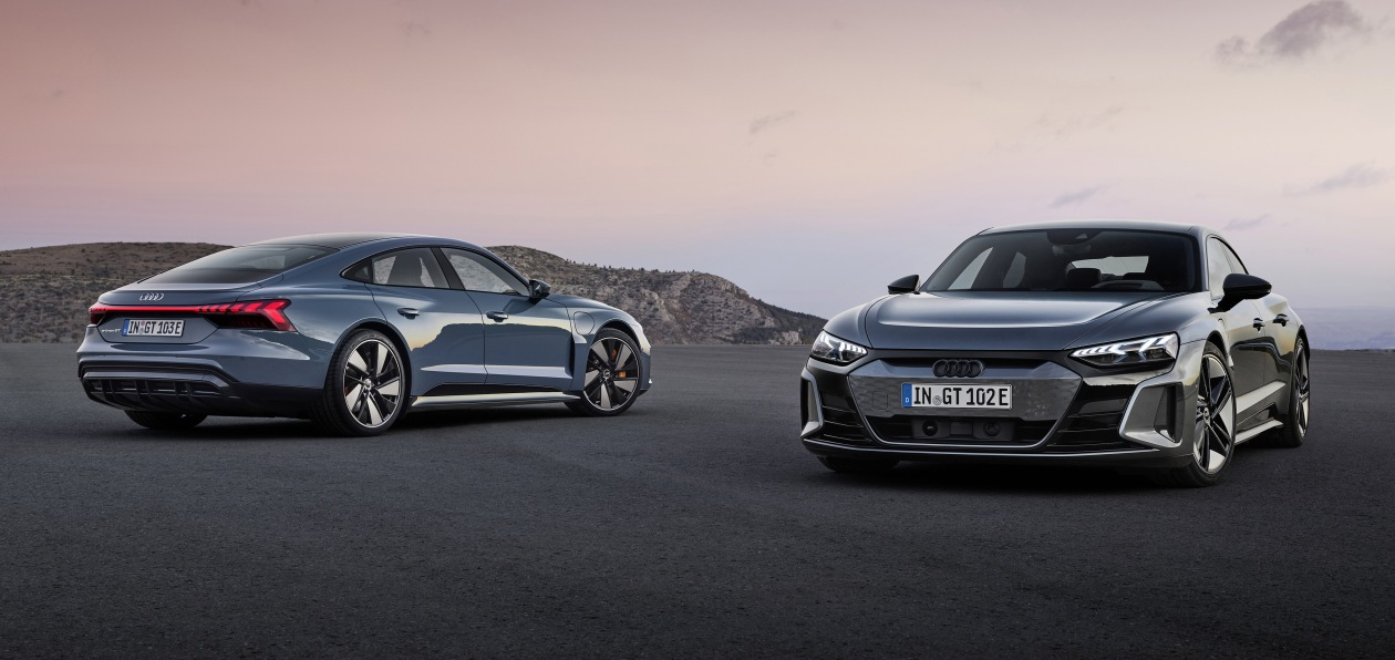 Audi представила новый e-tron GT