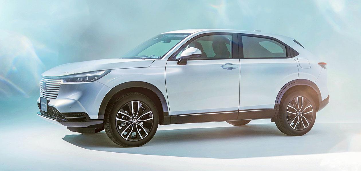 Honda «рассекретила» новый HR-V