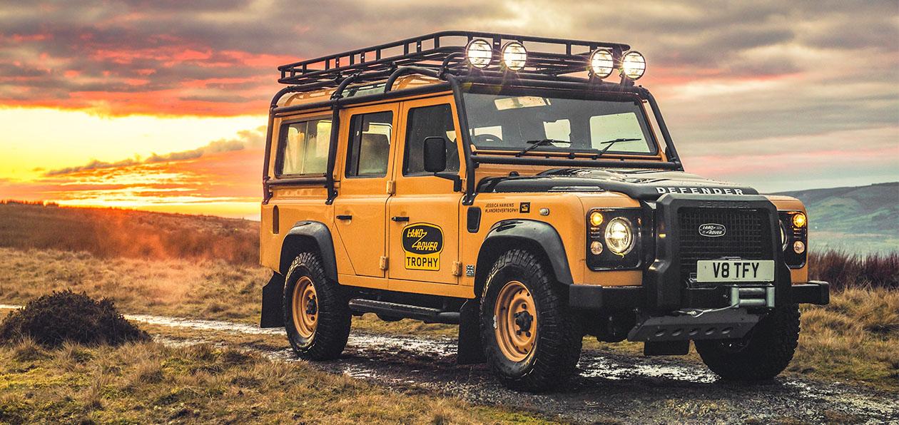 Land Rover выпустит классический Defender ограниченной серией