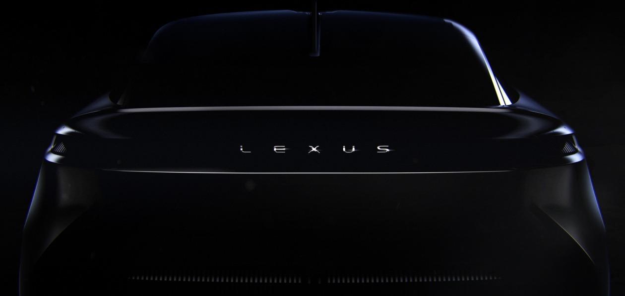 Lexus выложил тизер новой модели