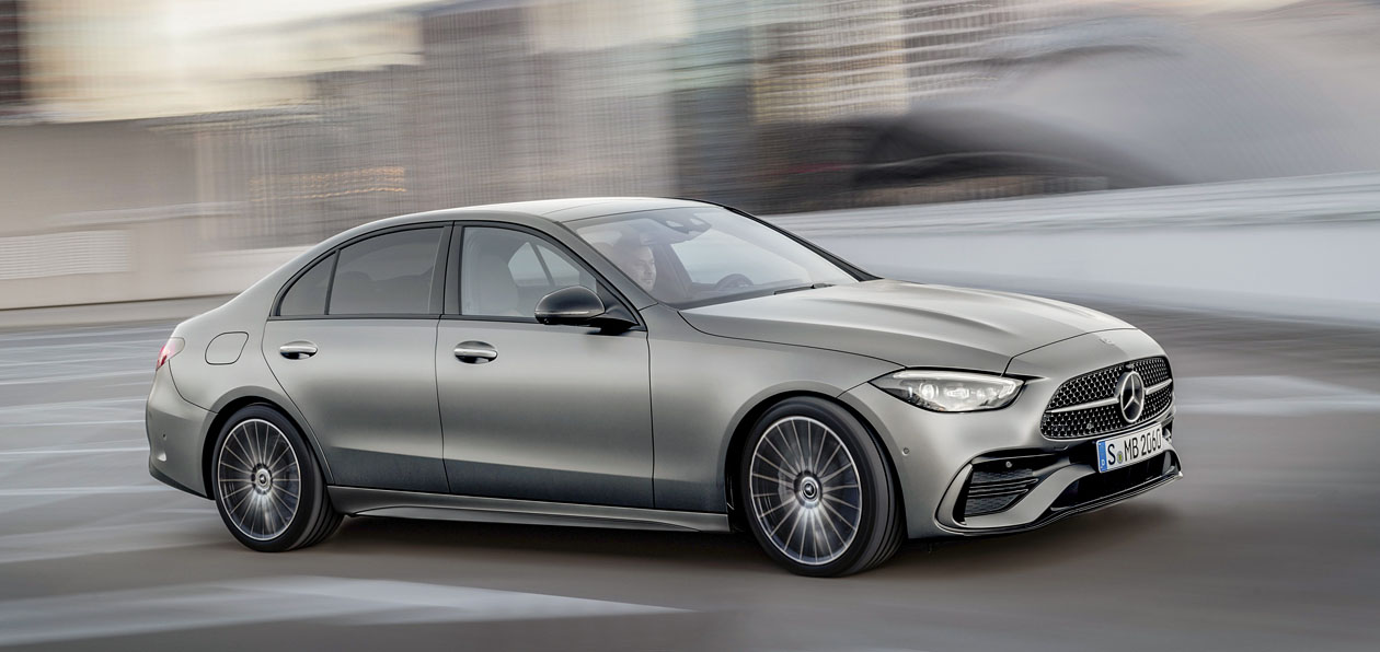 Mercedes «рассекретил» новый C-Class