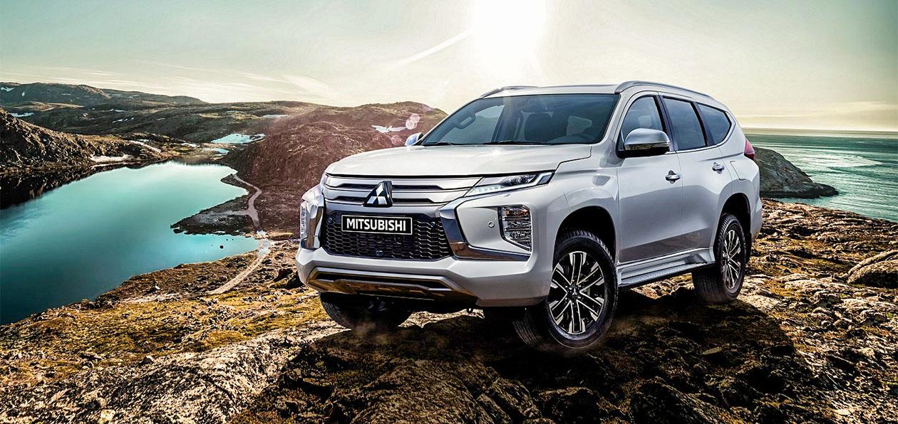 В Россию «едет» новый Mitsubishi Pajero Sport