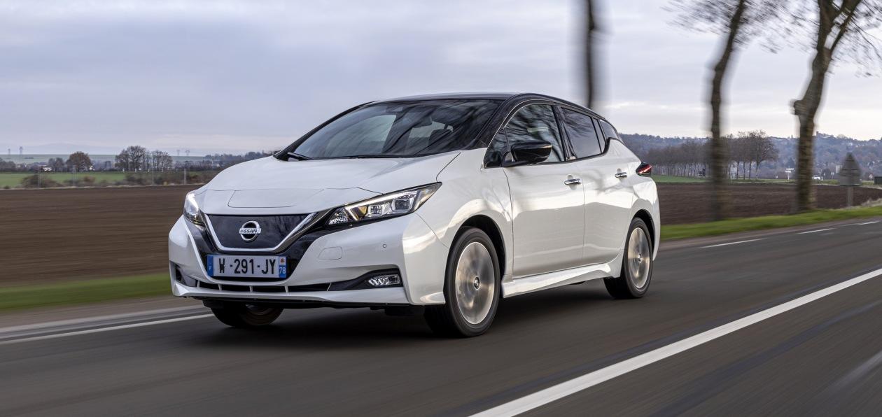 Nissan выпустил юбилейную спецверсию Leaf