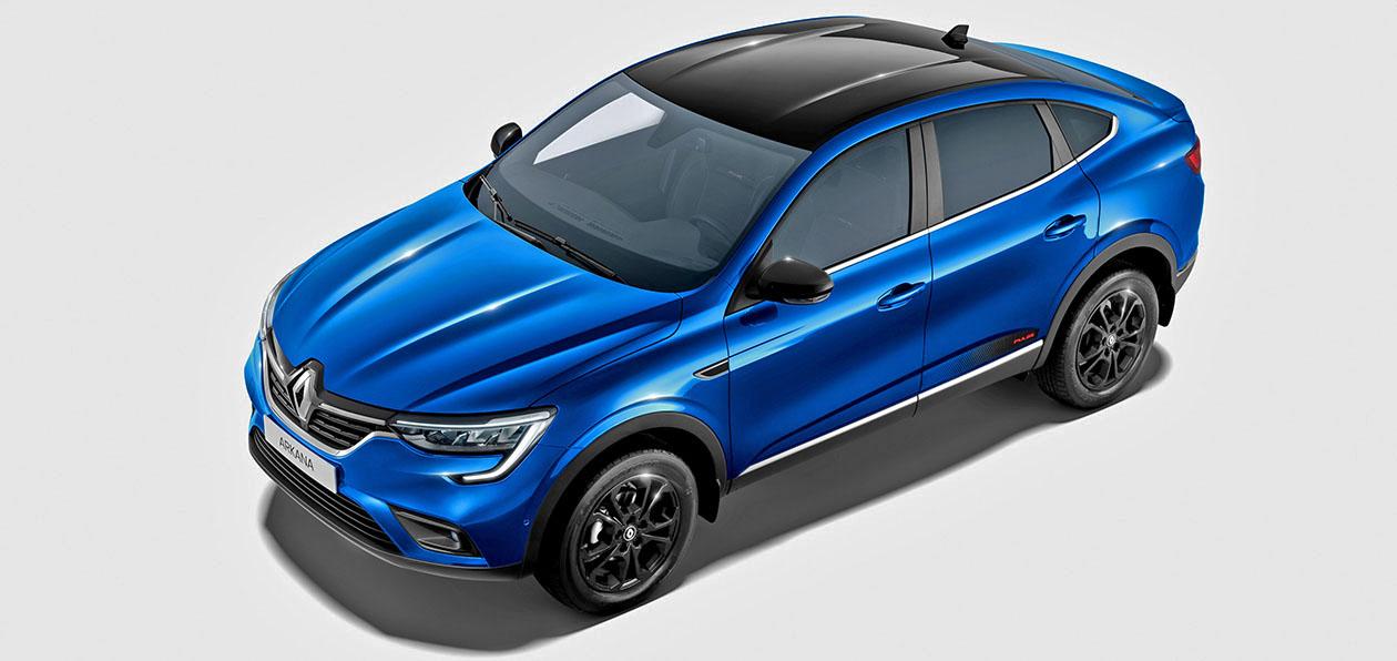 Кросс-купе Renault Arkana доступно в новой спецверсии