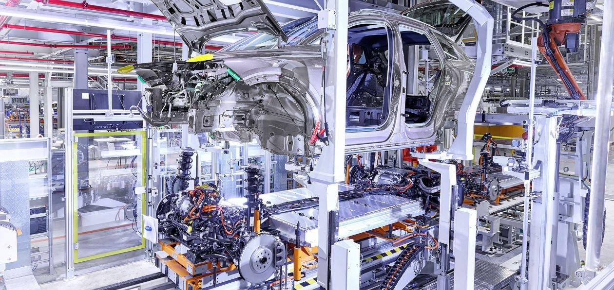 Новый Audi Q4 e-tron встал на конвейер