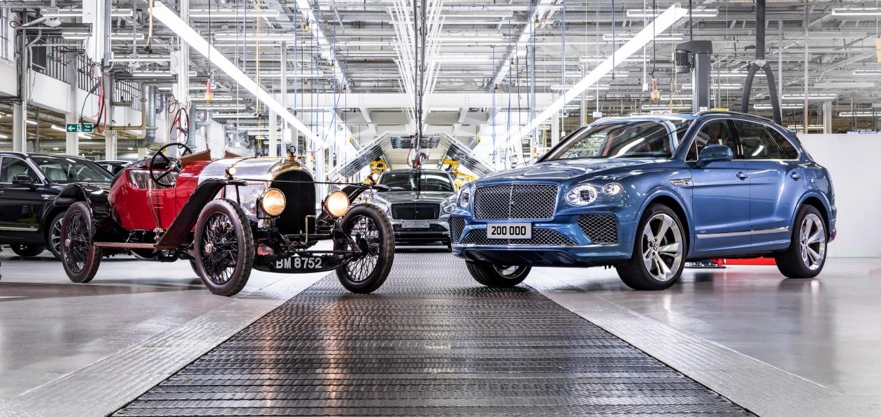 Bentley выпустил 200-тысячный автомобиль