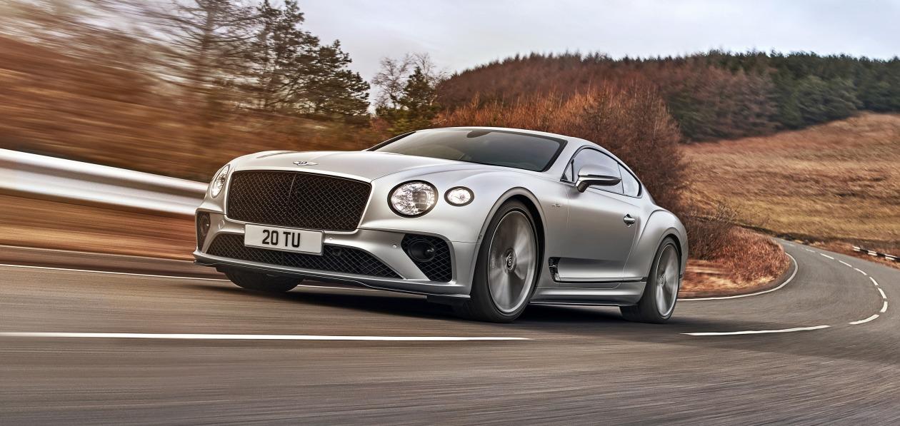 Bentley представила новый Continental GT Speed
