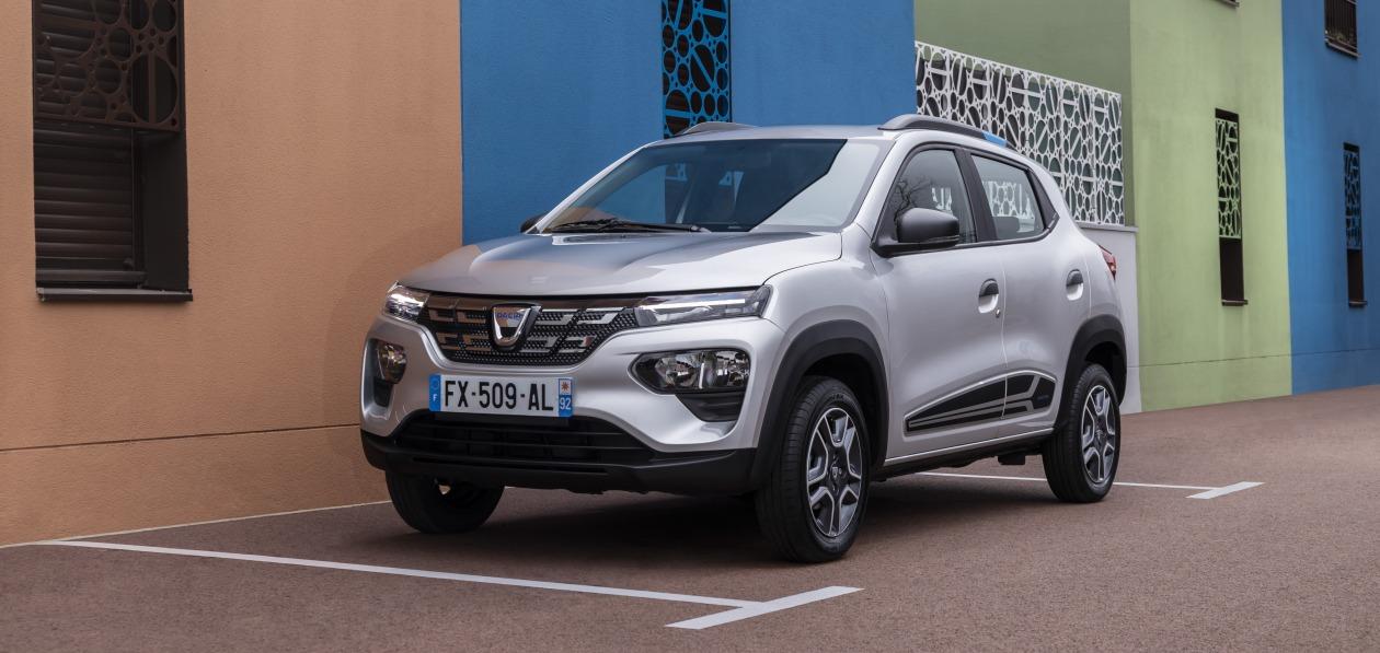 Электрокроссовер Dacia Spring стал доступен для заказа в Европе