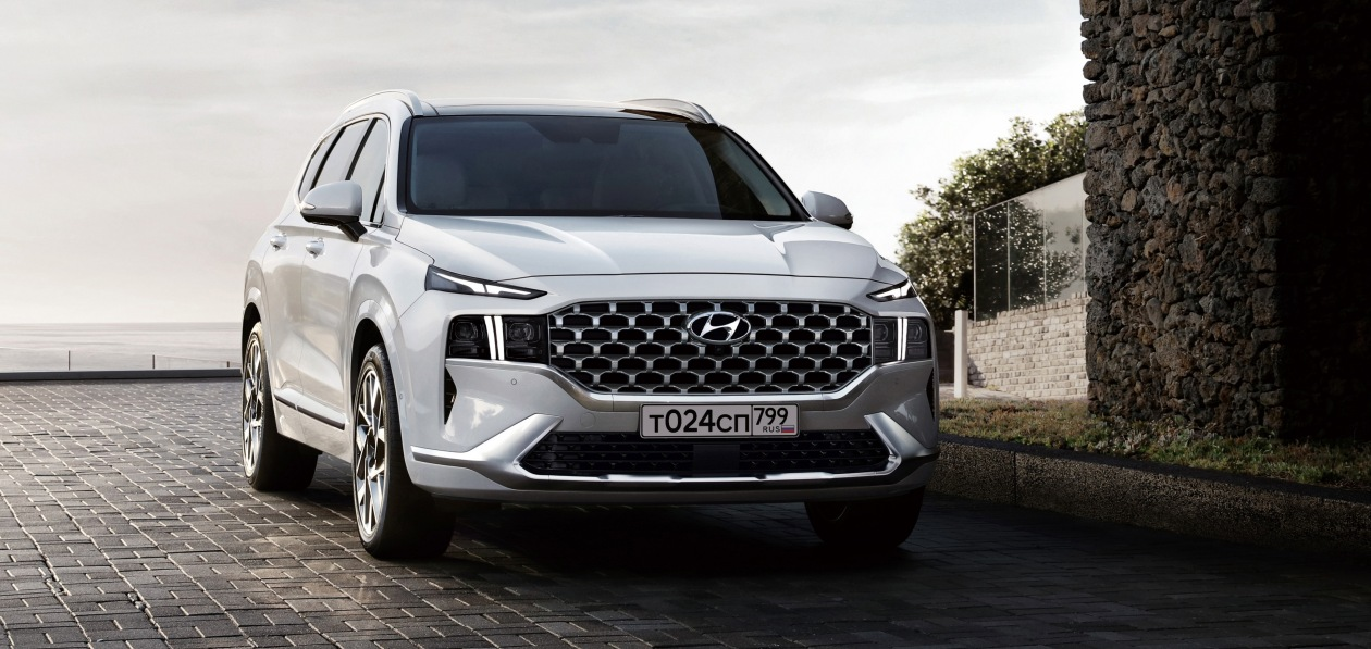 Обновленный Hyundai Santa Fe получил новую спецверсию