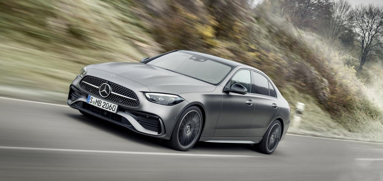 Новый Mercedes C-Class доедет до России к середине лета