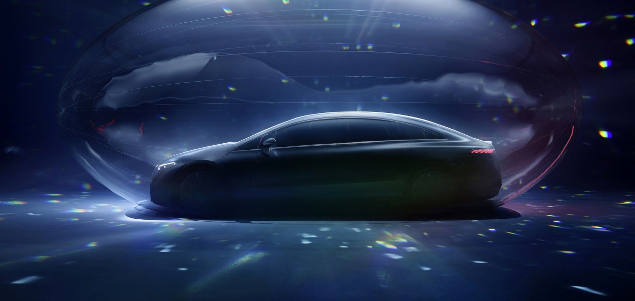Mercedes назвал дату мировой премьеры нового EQS