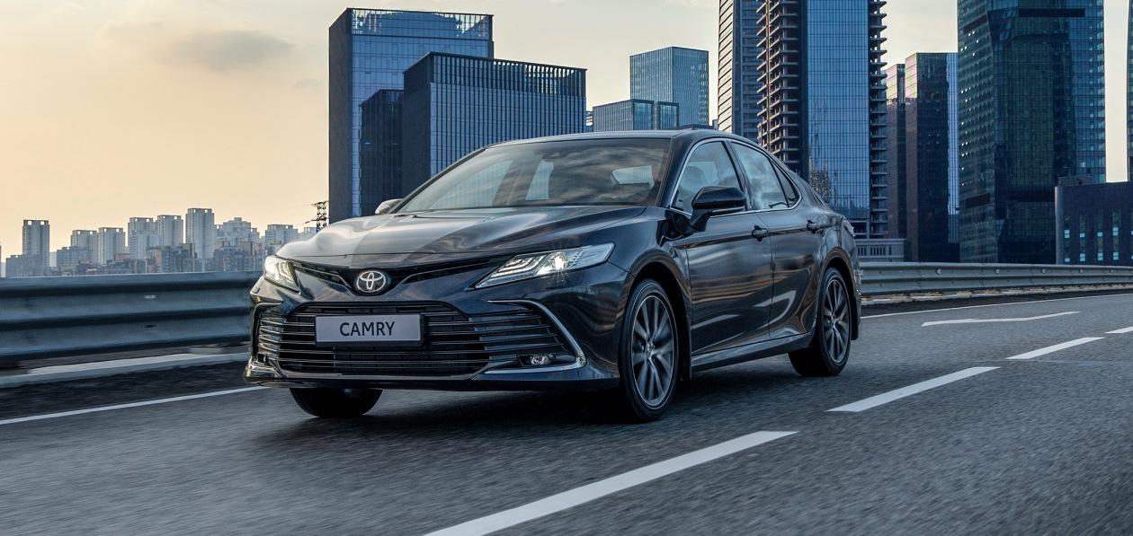 Обновленная Toyota Camry доступна для заказа в России