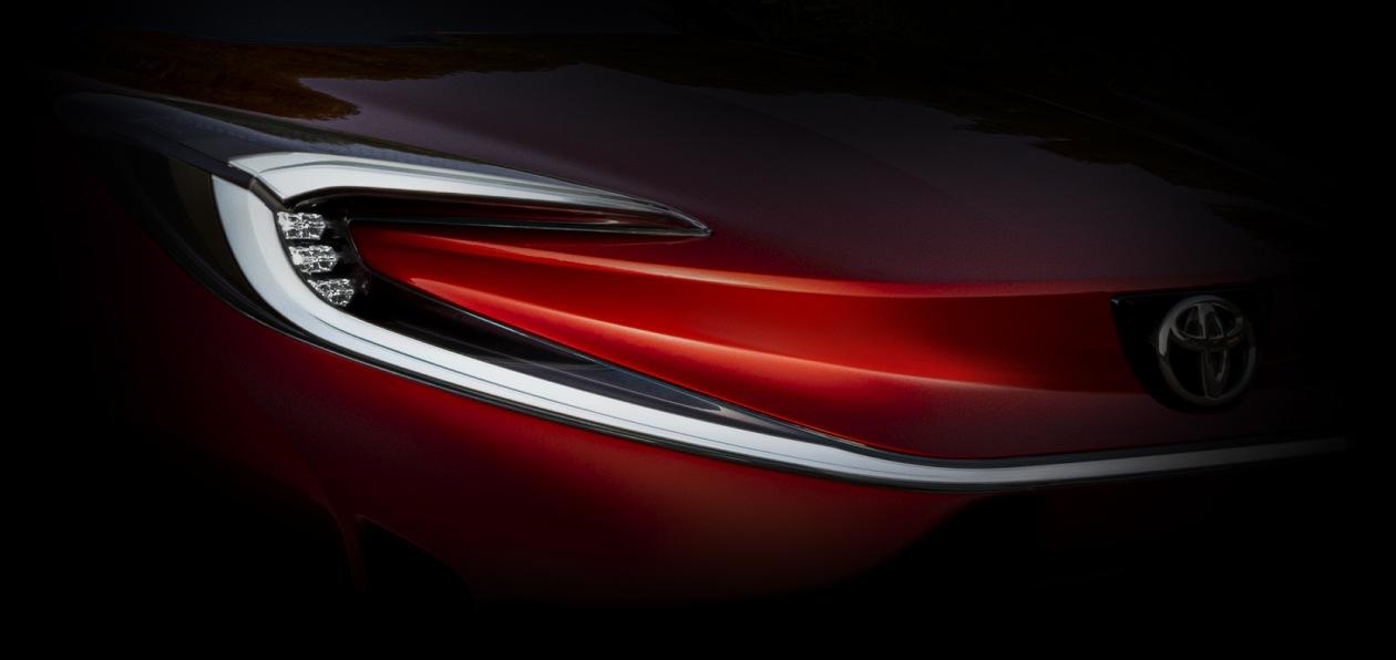 Toyota показала тизер нового X prologue