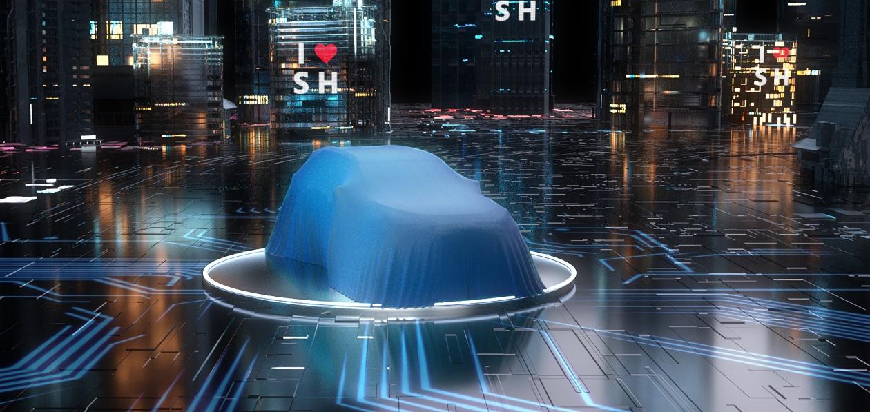 Toyota покажет в Шанхае новый электрокроссовер
