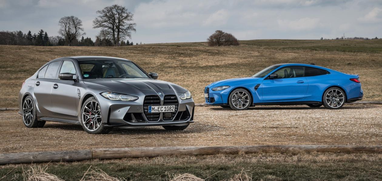В BMW «оценили» в рублях полноприводные M3 и M4