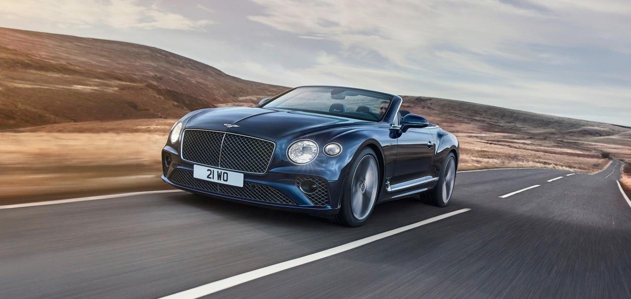 Bentley представила открытую версию нового Continental GT Speed