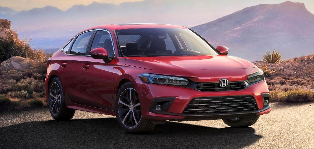 Honda Civic 2022: первое фото серийного седана
