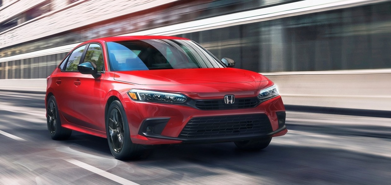 Honda показала серийный седан Civic нового поколения