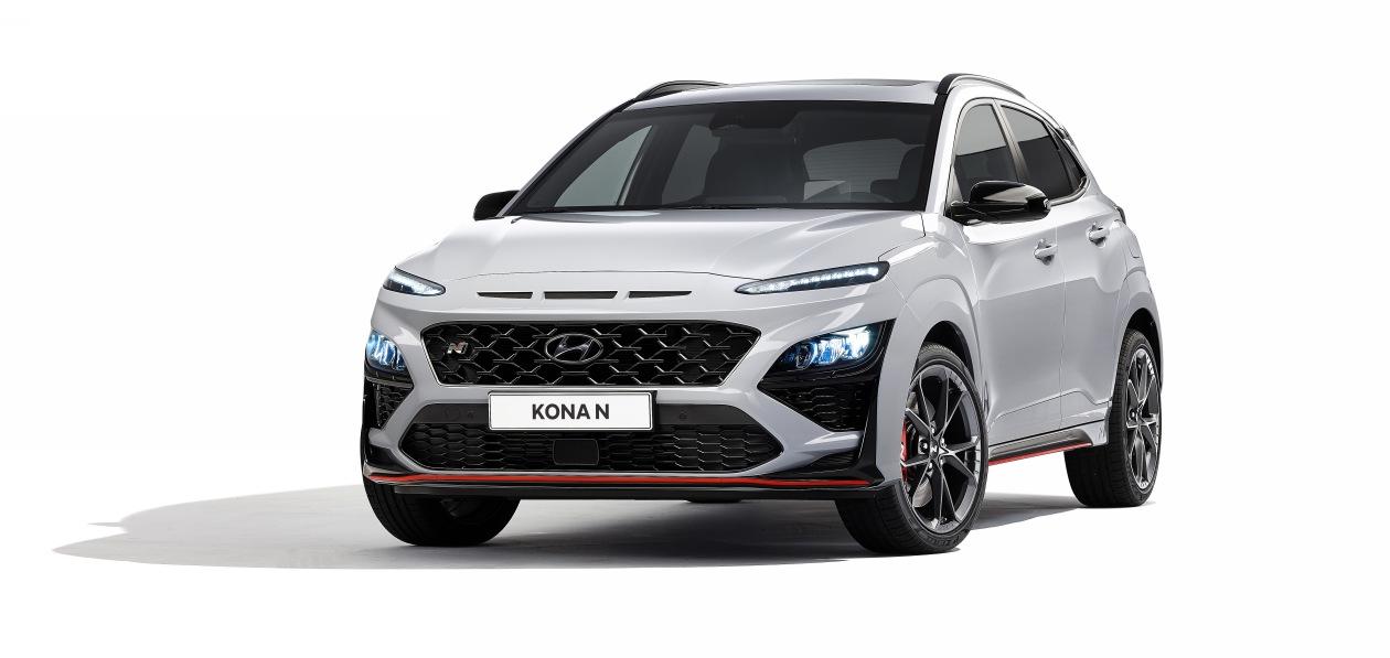 Hyundai представил новый Kona N