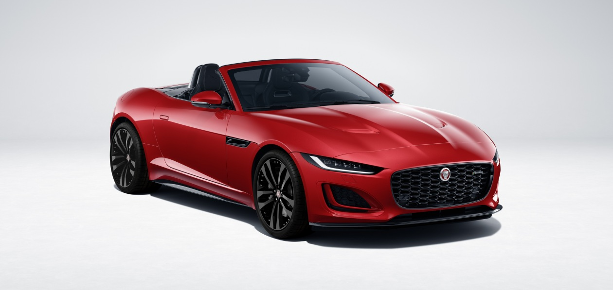 Jaguar F-Type обновился и получил новую версию