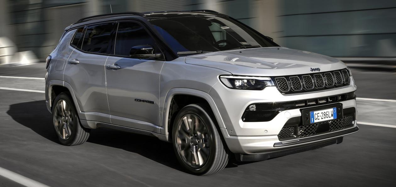 Jeep представил кроссовер Compass нового поколения