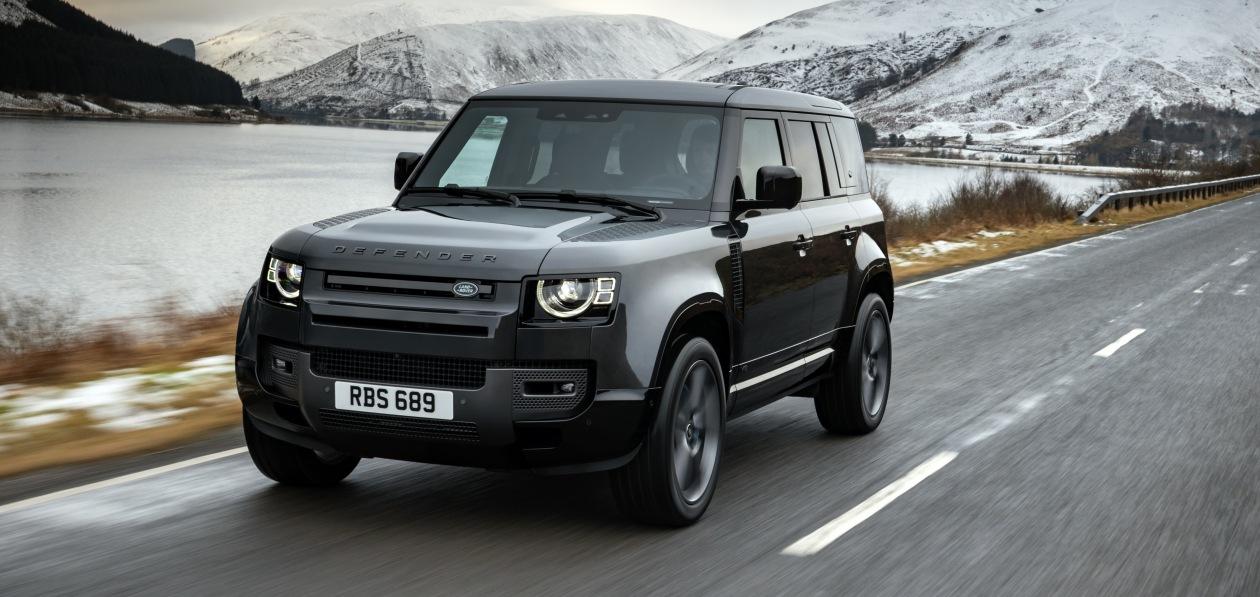 Land Rover «оценил» в рублях новый Defender V8