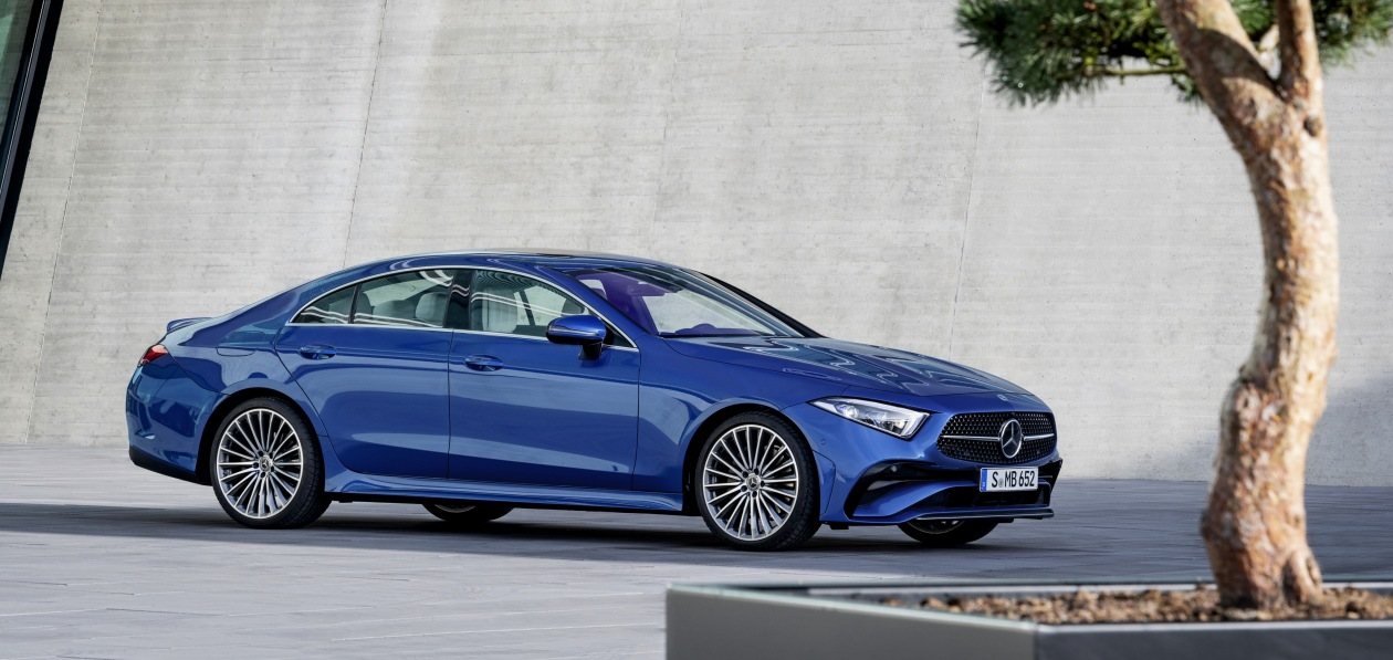 Mercedes обновил модель CLS