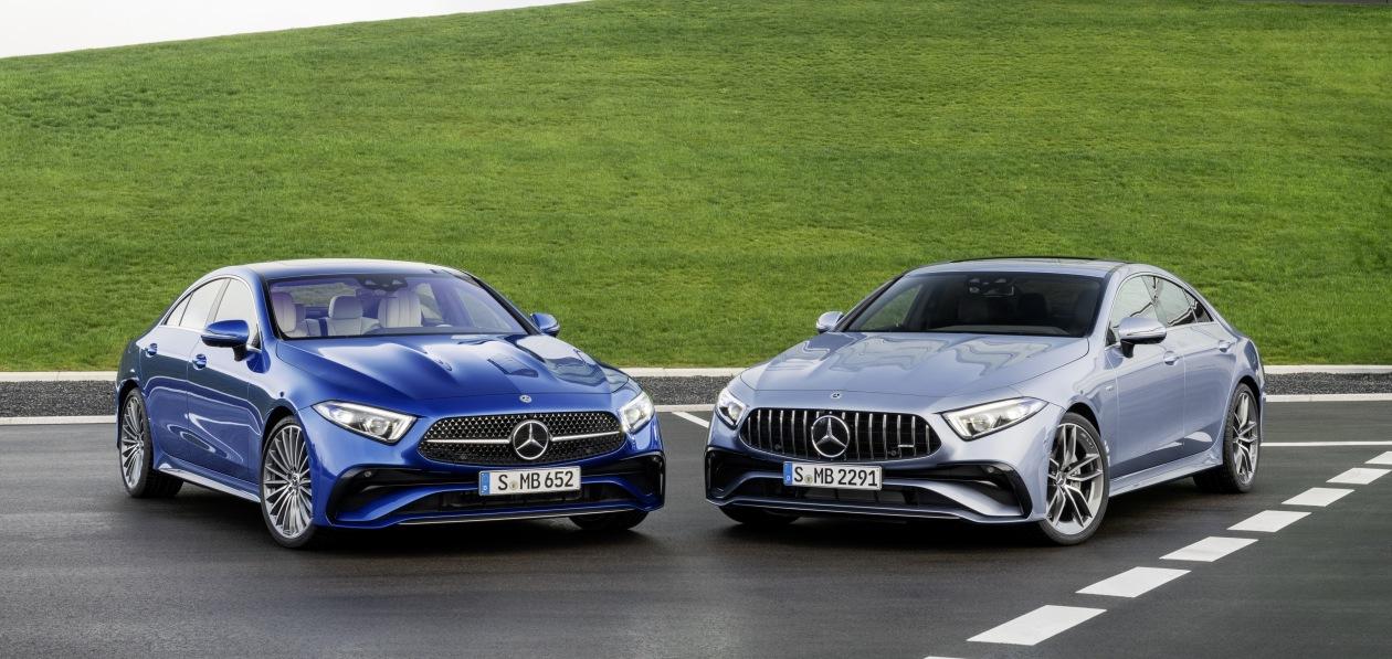 Обновленный Mercedes CLS стал доступен для заказа