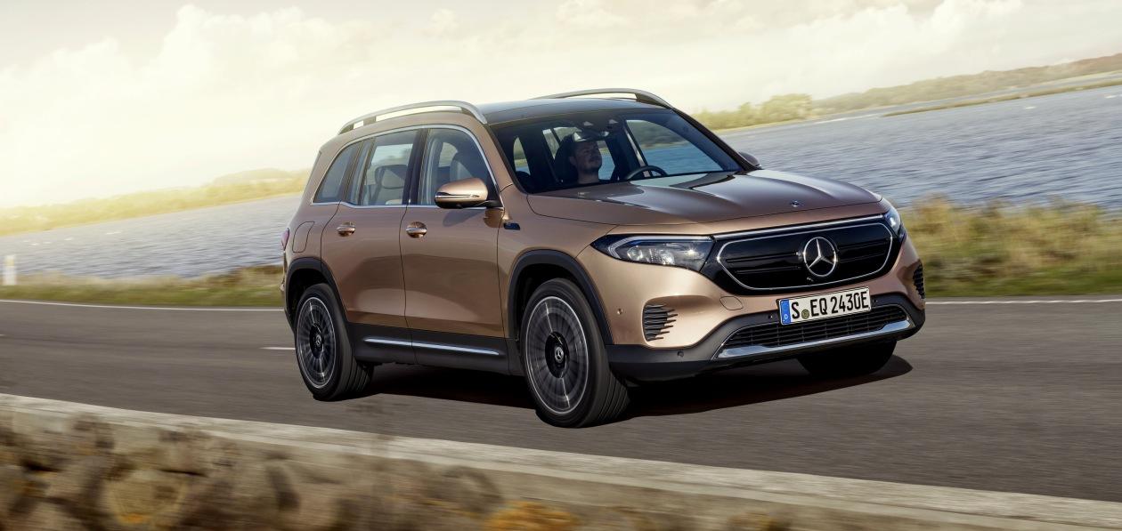 Шанхай 2021: Mercedes показал новый EQB