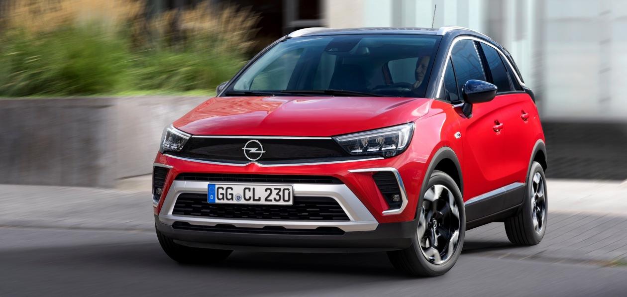 Новый Opel Crossland получил российский ценник