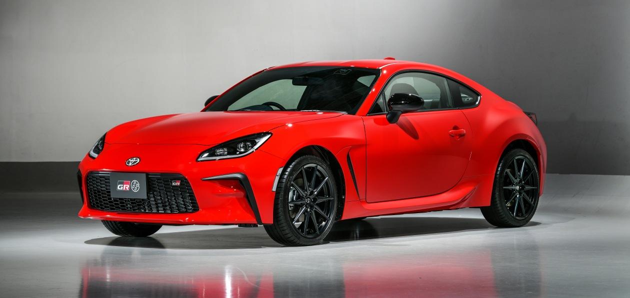 Toyota представила спорткупе GR 86