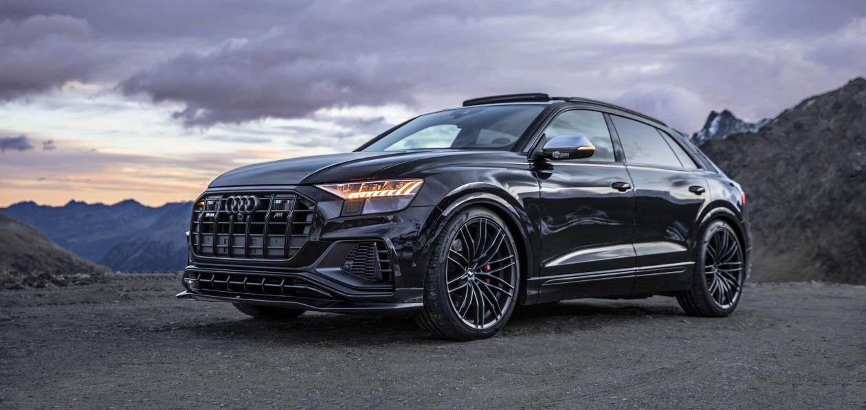 ABT форсировал бензиновый Audi SQ8