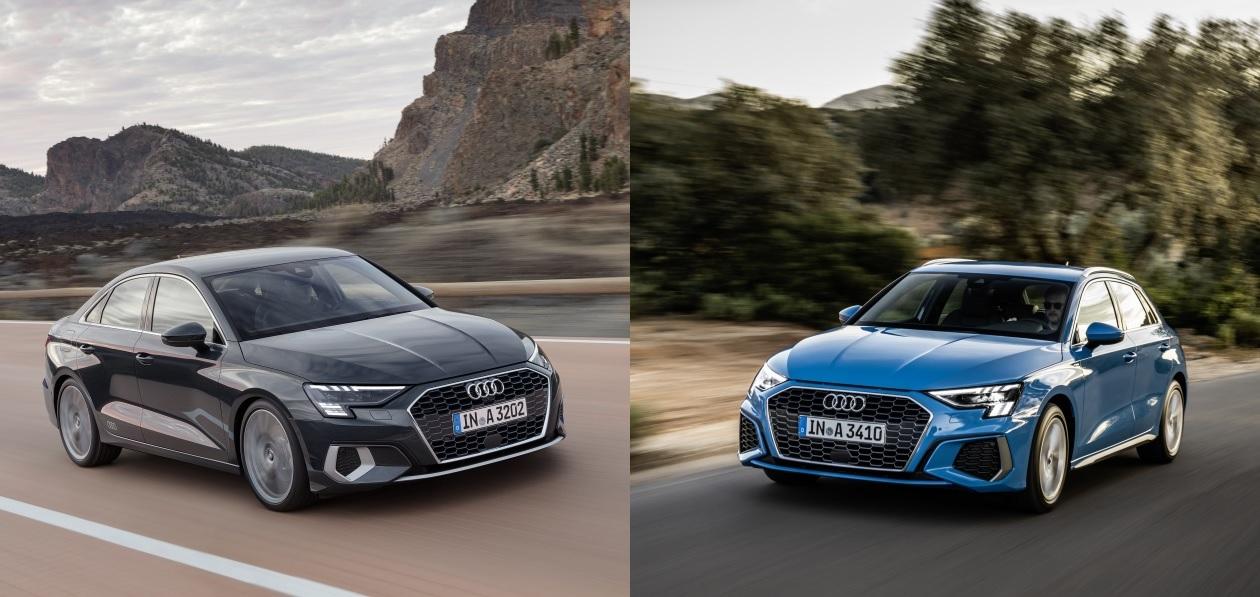 Audi «оценила» в рублях новые A3 Sedan и A3 Sportback