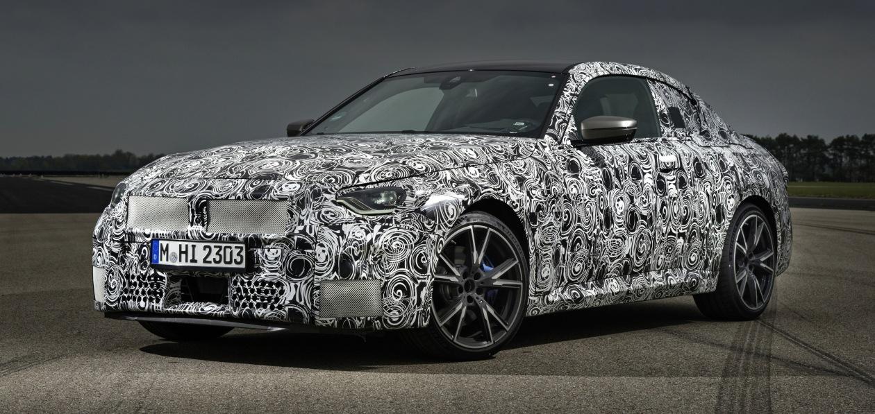 B BMW раскрыли характеристики нового купе 2 Series