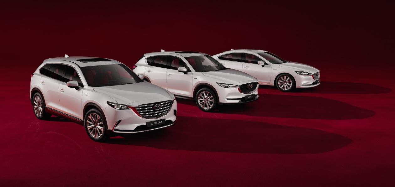 Три модели Mazda стали доступны в России в юбилейной спецверсии