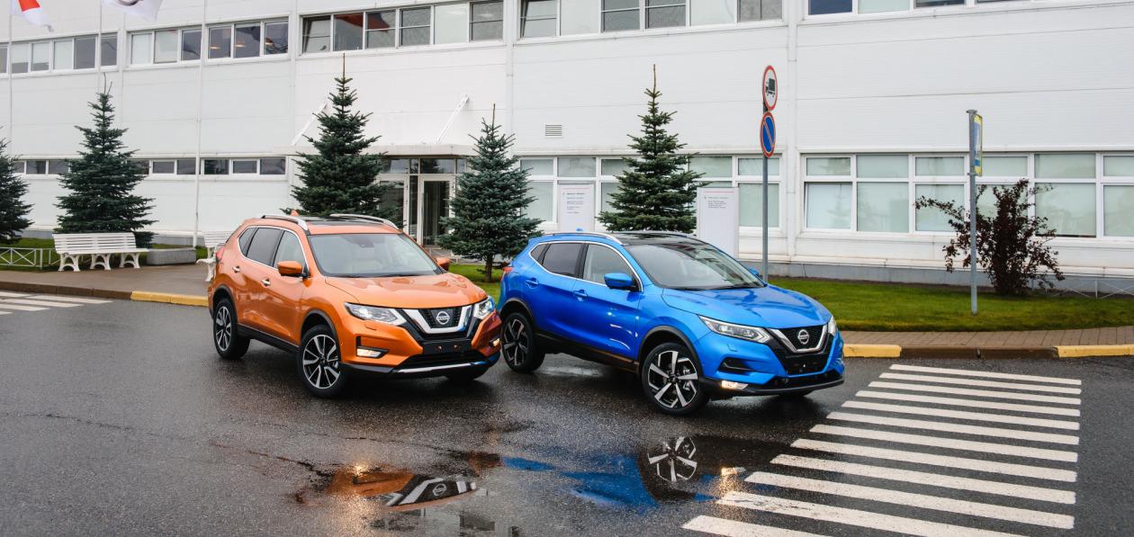 Nissan запустил продажи «российских» Qashqai и X-Trail 2021 модельного года
