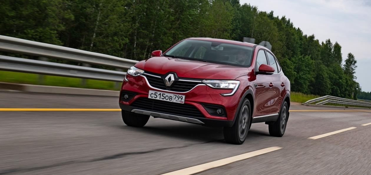 Renault Arkana нового модельного года поступил в продажу в России