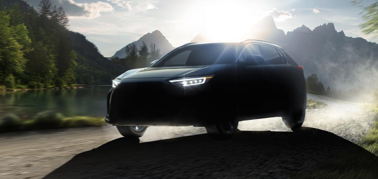 Subaru готовит серийный электрокроссовер