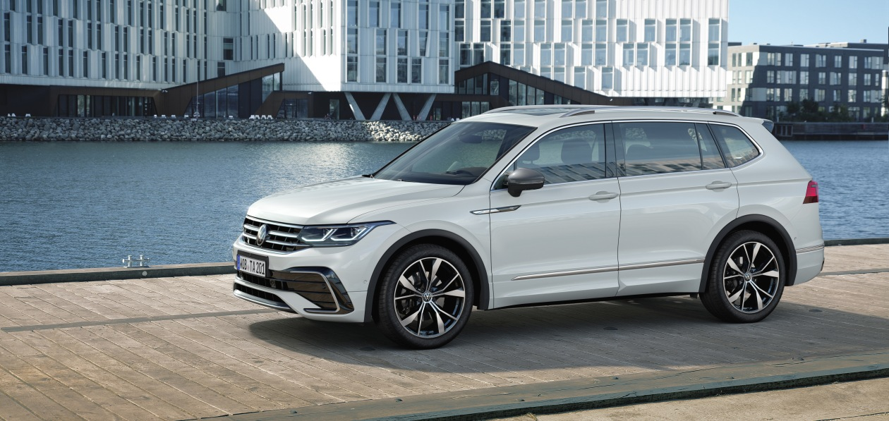 Volkswagen представил обновленный Tiguan Allspace