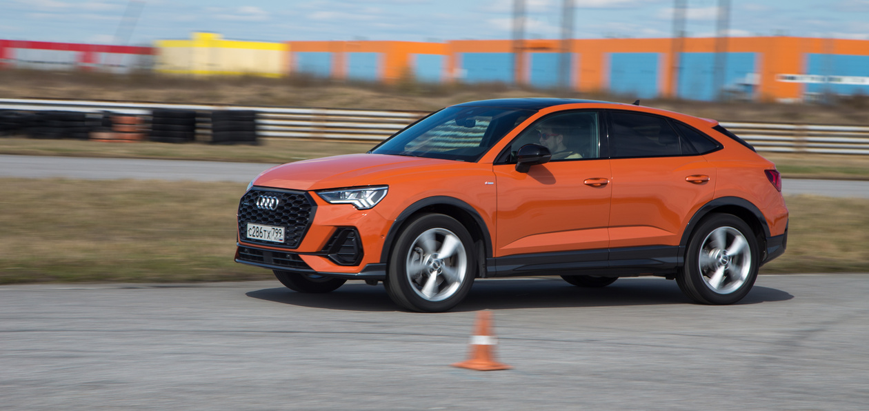 Тест-драйв Audi Q3 Sportback: гоняем по треку на самом дорогом Q3