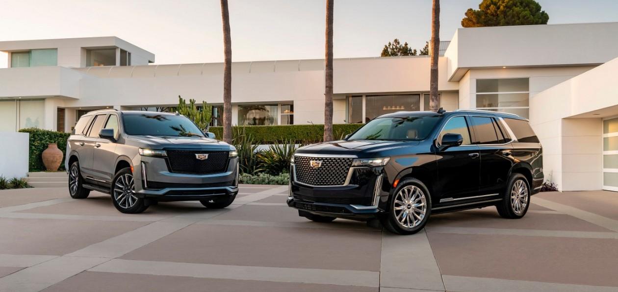 GM представил в России новые Chevrolet Tahoe V и Cadillac Escalade V