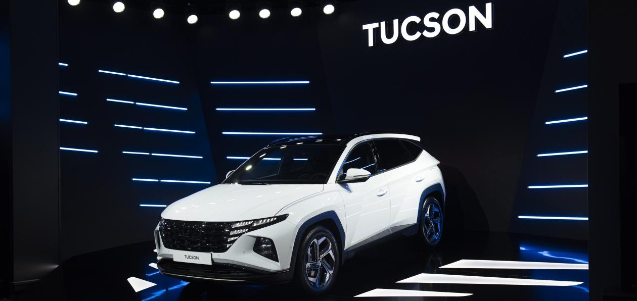 Hyundai представил Tucson нового поколения в России